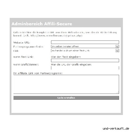 Affili Secure - Affiliate Links Maskieren